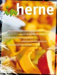 Zur Ausgabe November 2010 - Stadt Herne