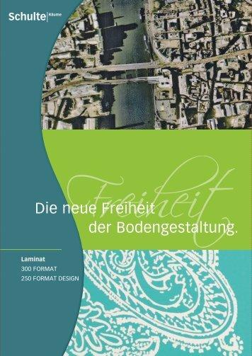 Die neue Freiheit der Bodengestaltung. - HOFMANN + WADSACK