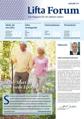 Lifta – Start in eine neue Epoche - Steinbach PR