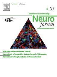 Molekulare Ursachen der Parkinson Krankheit Stammzellbasierte ...