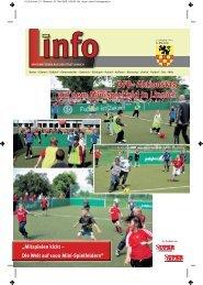 1. DFB- Aktionstag DFB- Aktionstag auf dem Minispielfeld in Linnich