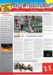 Hallo Nachbar - Die Stadtteilzeitung - Stadt Velbert