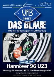 Das Blaue - Saison 2012/2013 #6 - VfB Oldenburg