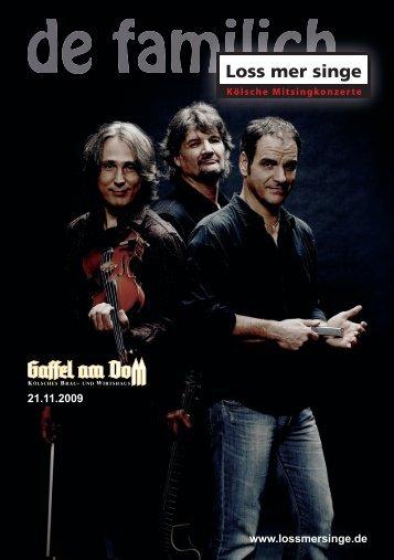 """Weihnachtskonzert """"Lieber Himmel"""" live mit - De Familich"""