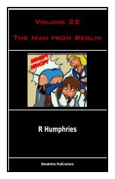 Volume 22 The Man from Berlin R Humphries - The Woody Back to ...