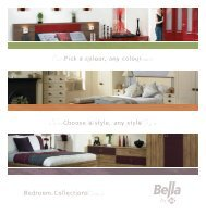 warm, safe, secure. At home in bed, tucked - Bespoke Bedrooms