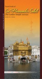 Travel Guide of - Golden Temple Amritsar
