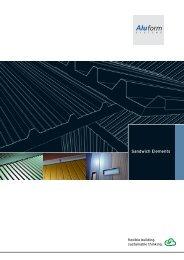 Aluminium Sandwich Elements - Aluform System GmbH & Co. KG