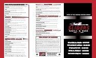 Download Our Menu - Sliders Grill & Bar