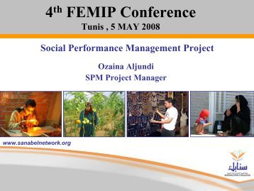Social Performance Management - JASPERS or