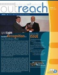 Outreach - August 2009 - unrwa