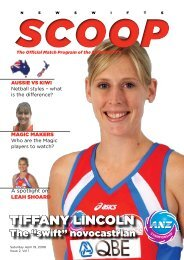 NSW Swifts SCOOP - Issue 2, Vol.1