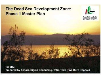 The Dead Sea Development Zone: Phase 1 Master Plan - JDZ