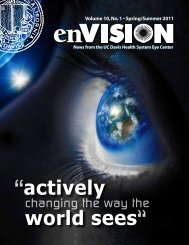 enVISION Spring 2011 - UC Davis Health System