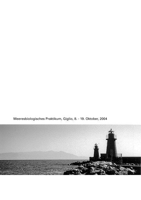 2004-giglio - Fachbereich Biologie
