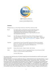1 LABMT Telephone conference January 23, 2012 6PM Berlin time ...