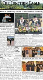 Friends and family attend commencement ceremony - Junction Eagle
