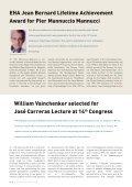 Newsletter May 2009 - European Hematology Association - Page 4