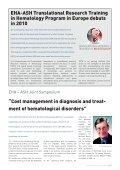 Newsletter May 2009 - European Hematology Association - Page 7