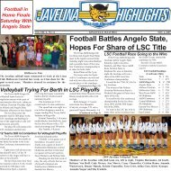 Football Battles Angelo State, Hopes For Share of LSC Title