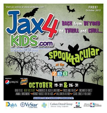 Join us for Community Appreciation Day Saturday, Oct ... - Jax4Kids