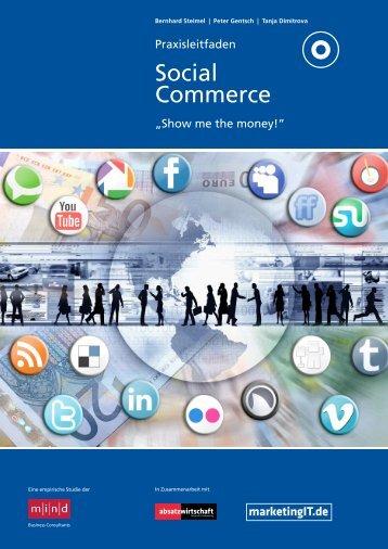 Praxisleitfaden Social Commerce - Kompetenznetz Mittelstand