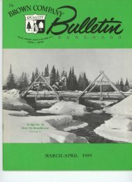 MARCH-APRIL 1959 - Berlin and Coös County Historical Society