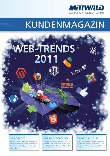 WEb-TrENDs - Mittwald CM Service GmbH & Co. KG