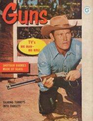 GUNS Magazine May 1960
