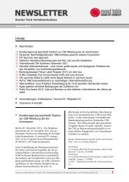 newsletter - Der Runde Tisch