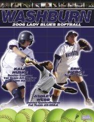 2006 softball guide working.indd - Washburn Athletics