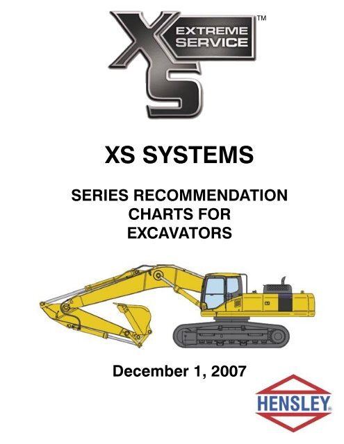 xs system series recommendation chart for excavators  mini excavator rubber tracks 300x52