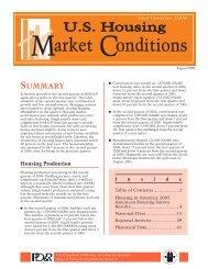 US Housing Market Conditions 2nd Quarter, 2006 - HUD User
