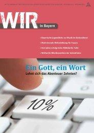 Ausgabe 2/12 - Bayern - Adventisten