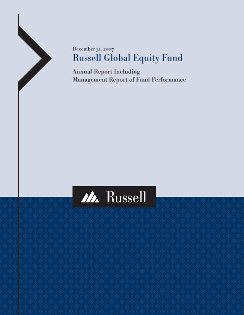 Russell investments funds under management hours of forex