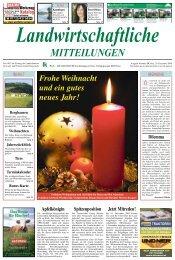 Landwirtschaftliche MITTEILUNGEN - Landwirtschaftskammer Kärnten