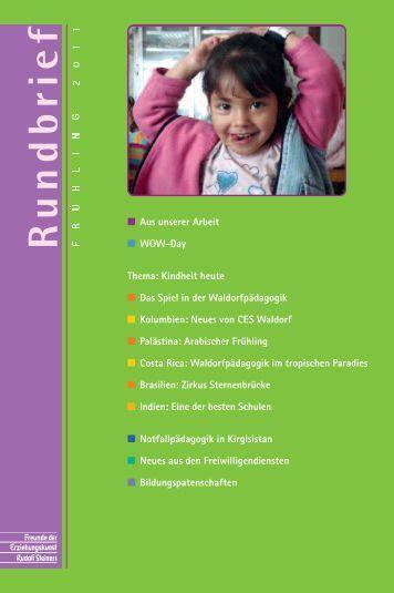 Aufgaben und Ziele - Freunde der Erziehungskunst Rudolf Steiners ...