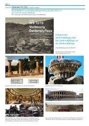 S. 1-16 - Denkmalpflege