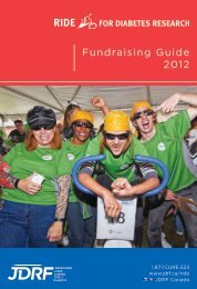Fundraising Guide 2012 - JDRF