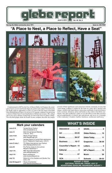 June 8, 2012 - Glebe Report
