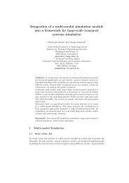 Integration of a multi-modal simulation module into a framework for ...