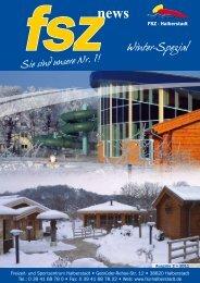 Winter-Spezial - Freizeit- und Sportzentrum Halberstadt