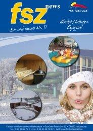Herbst /Winter- Spezial - Freizeit- und Sportzentrum Halberstadt