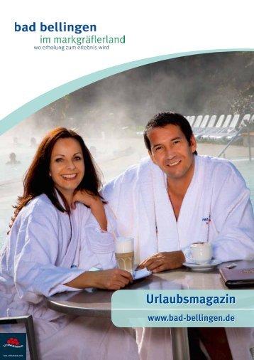 von uns für Sie - Bad Bellingen