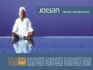 FREIZEIT UND ERHOLUNG - Jordan Tourism Board