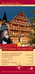 Bernkastel-Kues Weihnachtsmarkt
