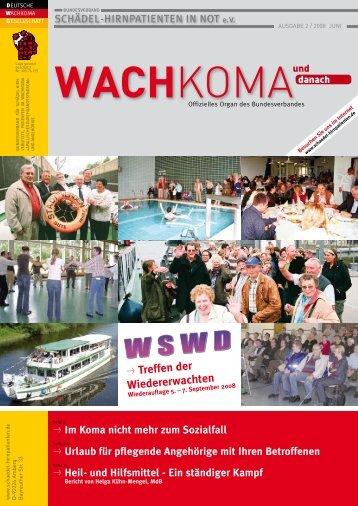Wachkoma und danach - Leseprobe aus der Ausgabe 2