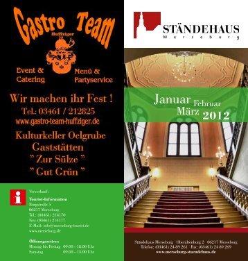 Januar - Ständehaus Merseburg
