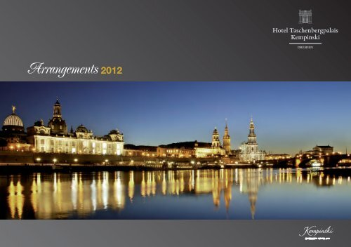Arrangements 2012 - Kempinski Hotels