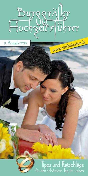 Ihre persönliche Hochzeits - Heiraten in Südtirol - Meran